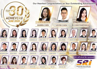 SRi June 2020 Achievers